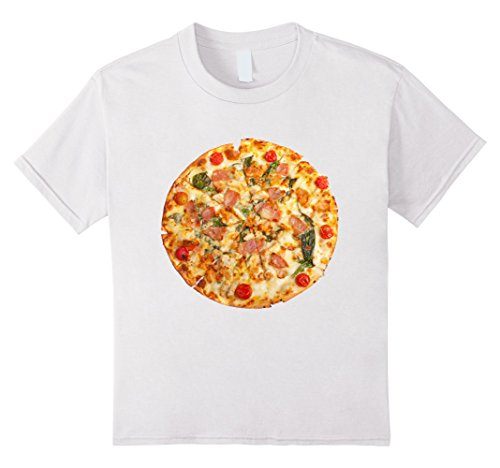 Pizza Girl Halloween Costume (Kids Pizza Funny Halloween costume shirt matching couples 8 White)