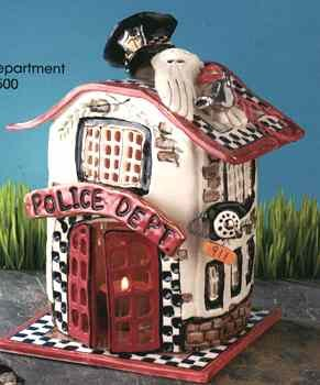Blue Sky Clayworks Police Department #19403