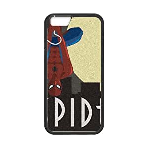 iPhone 6 4.7 Inch Cell Phone Case Black Spider Man Skyline Noir OJ529354