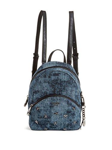 GUESS Bradyn Small Backpack, Denim