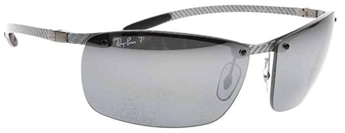 Amazon.com: Ray-Ban 8306 Carbon Fiber Polarized Sunglasses: Ray-Ban ...