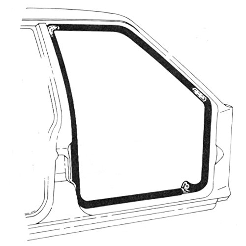 DENNIS CARPENTER FORD RESTORATION PARTS 1967-1972 FORD TRUCK F100/F750 DOOR SEAL KIT (PAIR) (Truck Parts 1970 Ford)
