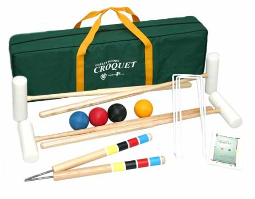 Extreme 4 Player Croquet Set By Oakley Woods Croquet by Oakley Woods Croquet