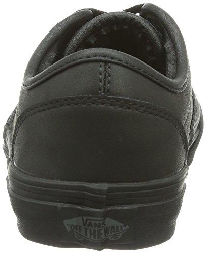 Vans Atwood - Zapatillas Unisex niños Negro - Schwarz ((Leather)Blk/Bl / L3B)