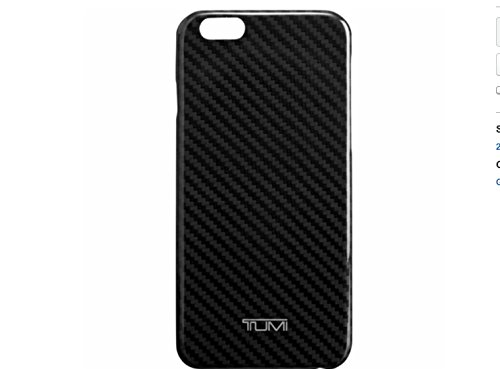 (TUMI Kevlar Snap Case For iPhone 6 Diagonal Stripe, Black/Grey)
