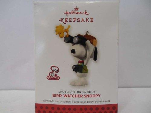 Hallmark Keepsake Ornament Bird-Watcher 16th in Spotlight on Snoopy Series 2013