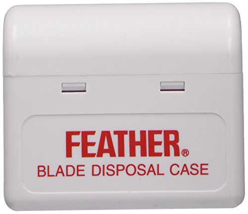 Feather Blade Disposal Case Razor Blade Disposal