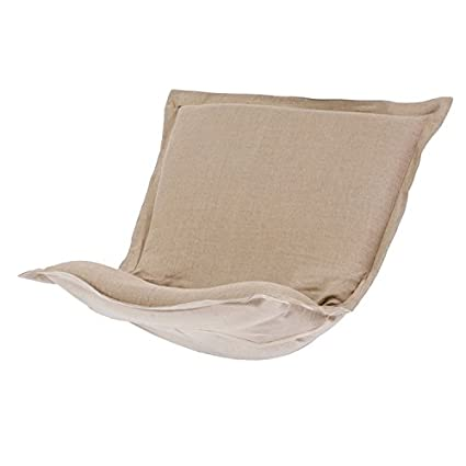 Merveilleux Howard Elliott 300 200P Puff Chair Cushion, Sterling Breeze
