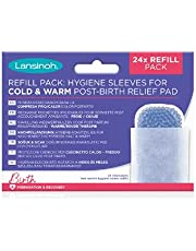 Lansinoh Navulverpakking hygiëne-beschermvlies - 24 stuks - voor Lansinoh weekbed-kompres koud & warm, 55 g