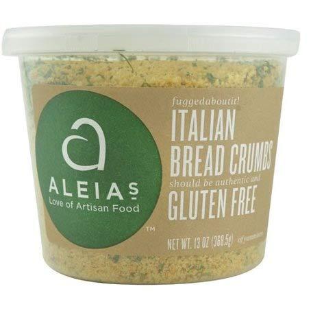 - Aleia's Bread Crumbs Gluten Free Italian -- 13 oz - 2 pc