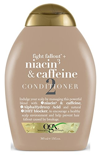 Ogx Conditioner Niacin 3 & Caffeine 13 Ounce (384ml) (2 Pack)