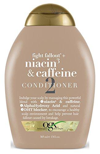Ogx Conditioner Niacin 3 & Caffeine 13 Ounce (384ml) (2 (Best Ogx Dht Blockers)