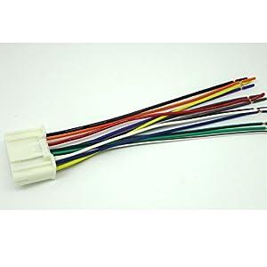 41oDWkIoJKL._SY300_ amazon com conpus plugs into factory radio car stereo wiring 2013 subaru impreza trailer wiring harness at soozxer.org