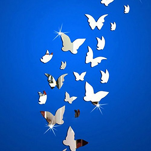 amaonm-21-pcs-removable-crystal-acrylic-mirror-butterfly-wall-decals-fashion-diy-home-decorations-art-decor-wall-stickers-murals-for-kids-nursery-room-bedroom-door-bathroom
