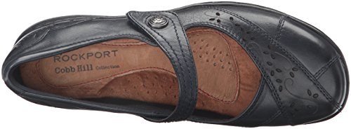 Cobb Hill Rockport Donna Petra Mary Jane Piatta, Blu Scuro, 6 W Us