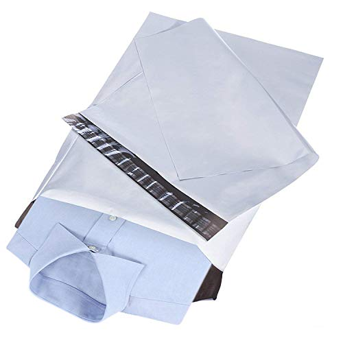 RUSPEPA White Poly Mailer Envelopes - Shipping Bag with Self Seal Adhesive Strip - 10x13 Inch - 100Pcs (Shipping Envelopes 10x13)