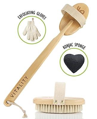 Dry Brushing Body Brush Exfoliation Set