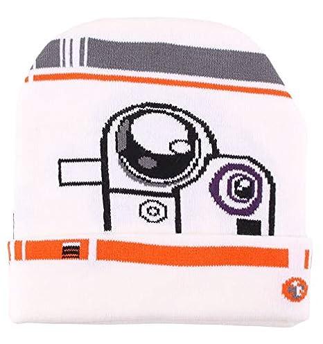 3c69af1b9bc Bonnet Star Wars VIII - BB8 Astromech Head  Amazon.fr  Vêtements et ...
