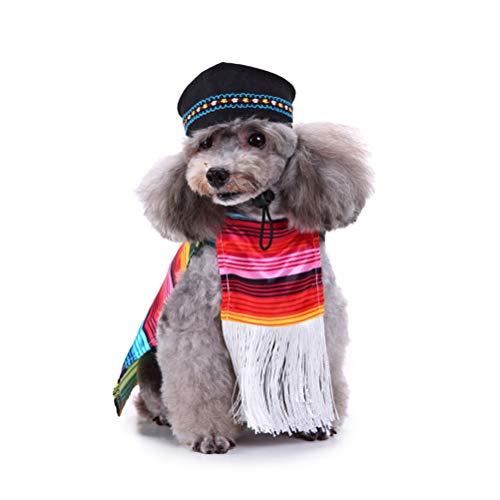 Cinco De Mayo Costumes For Dogs - POPETPOP Cinco De Mayo Dog Costume-Mexican