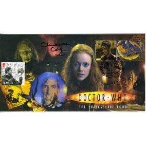 Doctor Who and David Tennant commemorative stamp cover -