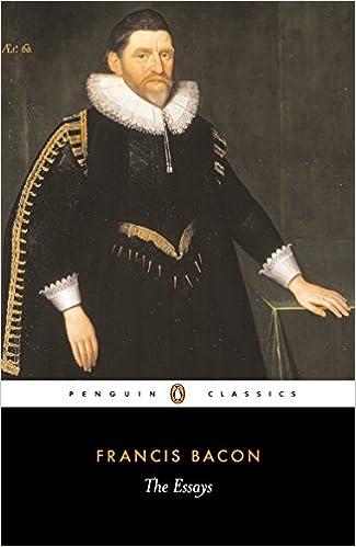 com the essays penguin classics francis  com the essays penguin classics 9780140432169 francis bacon john pitcher books