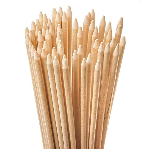 (Bamboo Marshmallow Roasting Sticks with 36 Inch 5mm Thick Extra Long, 110 Count,(110 Pcs) )