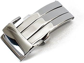 「ブライトリング(BREITLING)向け」輸入王オリジナル 社外品 Dバックル 20mm ツヤあり