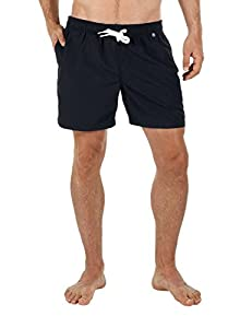 Calida Herren Bügel Badeshorts Shorts Malibu Beach, Einfarbig, Gr. Small,...