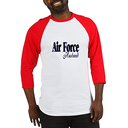 CafePress - Airforce Husband - Cotton Baseball Jersey, 3/4 Raglan Sleeve Shirt