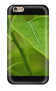Anti-scratch And Shatterproof Chinese Tallow Green Leafs Black Nature Other Phone Case For Iphone 6/ High Quality Tpu Case wangjiang maoyi