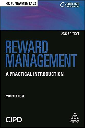 Reward Management: A Practical Introduction, 2nd Edition