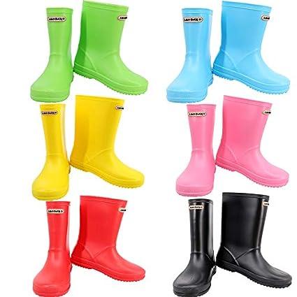 Leopard Boys Girls Kids Wellies Wellington Motorbike Boots Waterproof Unisex Children Rain Shoes Touch Global Ltd