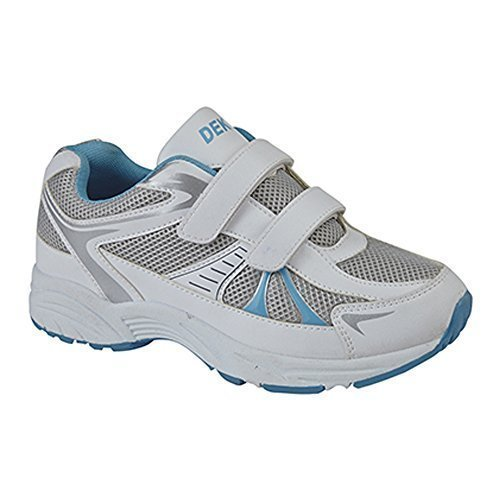 Dek Womens Synthetic Leather Running Shoes White ilQABClfag
