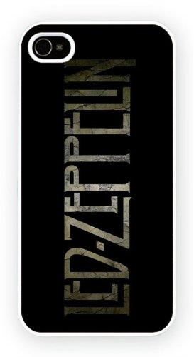 Led Zeppelin - logo, iPhone 5 5S, Etui de téléphone mobile - encre brillant impression