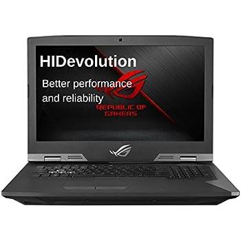 HIDevolution ASUS ROG G703VI 17 inch Gaming Laptop | 2.9 GHz i7-7820HK, 64GB DDR4 RAM, GTX 1080 8GB, PCIe 2x 2TB SSD + 4TB SSD | Authorized Performance Upgrades & Warranty