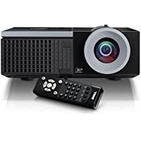 DELL 4320 4300 ANSI LUMENS (MAX) 1280x800 WXGA PROJECTOR w/3D PROJECTION TECHNOLOGY & NETWORK CONNECTION