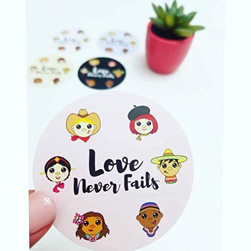 Love Never Fails Stickers - JW International Convention - Convention Souvenir - Stickers - 2019 JW Regional Convention - Best Life Ever - JW Gift - JWorg