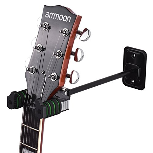 Guitar Stand Acoustic Hanger Hook Holder Wall Mount with Sponge Cushion for Electric Bass Mandolin Banjo