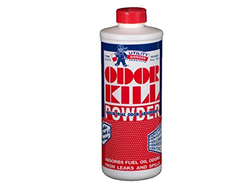 Utility Wonder 20-3010 14oz Odor Kill Powder For Fuel Oil Spills. Use a small amount to quickly neutralize fuel oil odors due to leaks, spills, tank overflows and oil burner drippings.