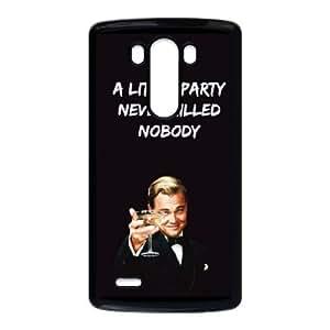 LG G3 phone case Black Wolf Of Wall Street KKUP1741480