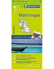 Michelin Zoom Martinique Map 138
