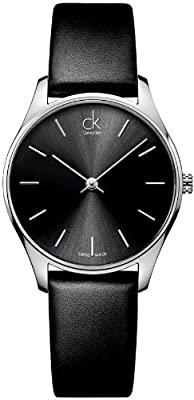 Calvin Klein ck Classic Leather Ladies Watch K4D221C1