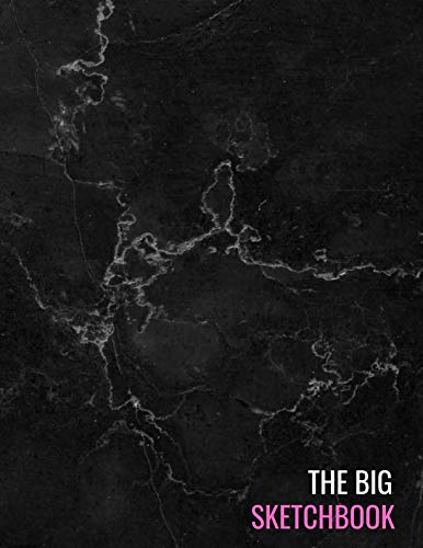- The Big Sketchbook: Black Marble Sketchpads Sketching, Drawing, Creative Doodling to Draw and Journal