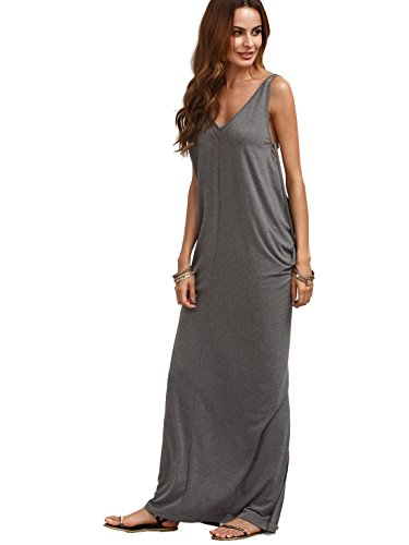 MakeMeChic Womens Casual Loose Backless product image