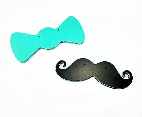yueton Mustache Pennant Birthday Decoration