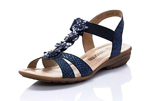 Les Bleu Sandale Femmes De Les Femmes Remonte Sandale Femmes Remonte De Bleu Les De B7T8xn