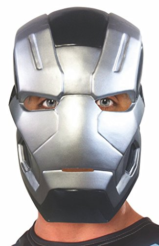 Marvel Men's Captain America: Civil War Machine Half Mask, Multi, One Size