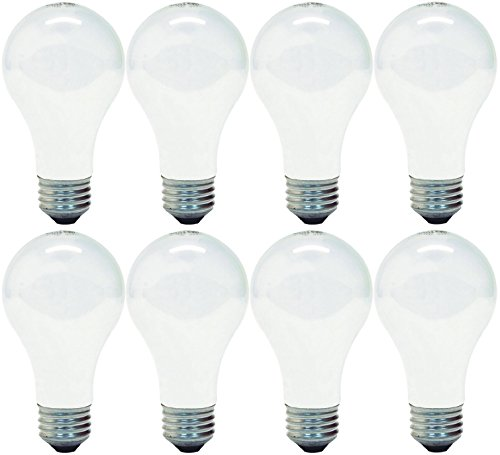 - GE Lighting 66247 Soft White 43-Watt, 620-Lumen A19 Light Bulb with Medium Base, 8-Pack