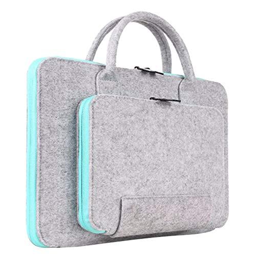 SODIAL New Feutre Universel Sac DOrdinateur Portable Sacoche Sacoche Sacoche pour Macbook Air Pro R/étine Hommes Femmes 13 Pouces