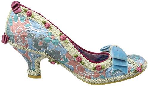 Onregelmatige Keuze Dames Bish Bash Boog Pompen, Blauw Blauw (turkoois)